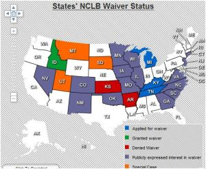 NCLB-waiver-by-state